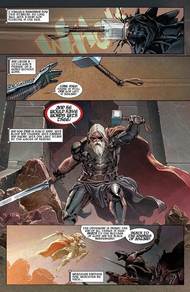 Comics Trivia: Những giai thoại về Old King Thor, vị vua quyền năng của Asgard trong tương lai - Ảnh 10.