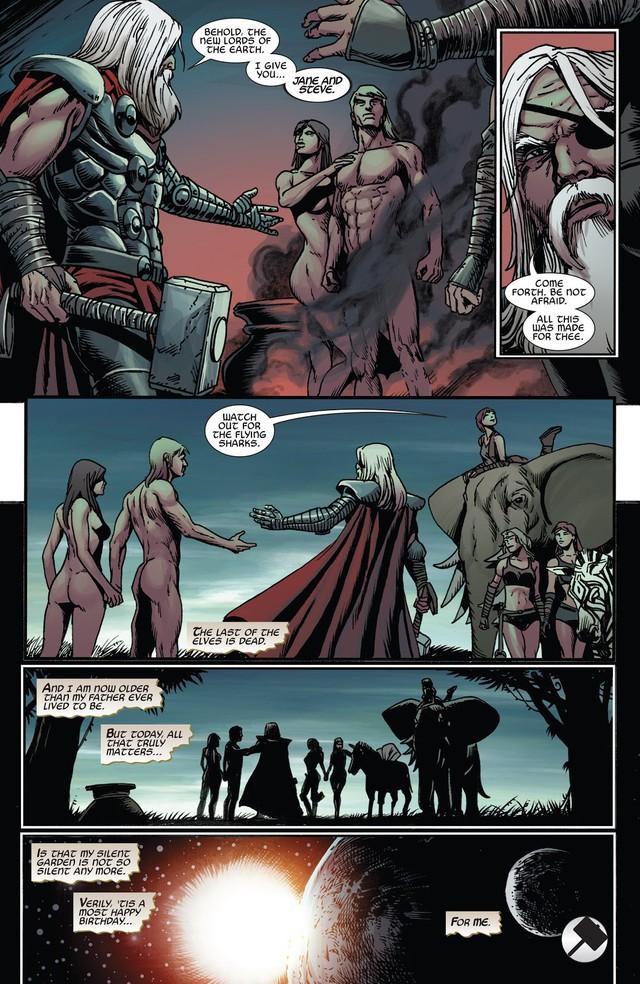 Comics Trivia: Những giai thoại về Old King Thor, vị vua quyền năng của Asgard trong tương lai - Ảnh 8.