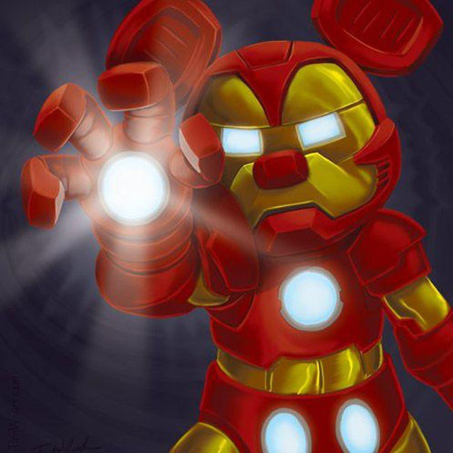 Khi các nhân vật Marvel và Disney kết hợp với nhau qua óc sáng tạo đầy táo bạo của fan - Ảnh 5.