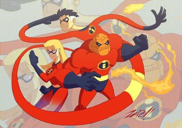 Khi các nhân vật Marvel và Disney kết hợp với nhau qua óc sáng tạo đầy táo bạo của fan - Ảnh 6.