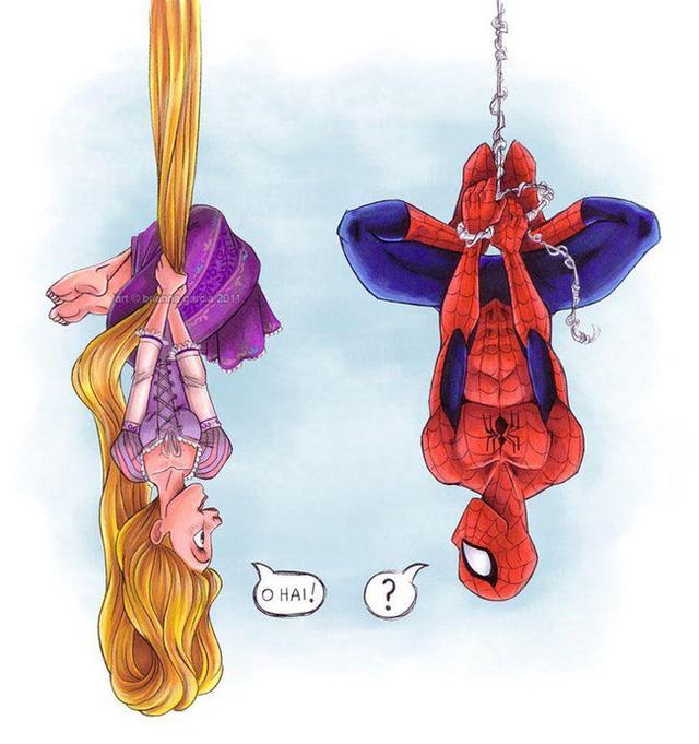 Khi các nhân vật Marvel và Disney kết hợp với nhau qua óc sáng tạo đầy táo bạo của fan - Ảnh 11.