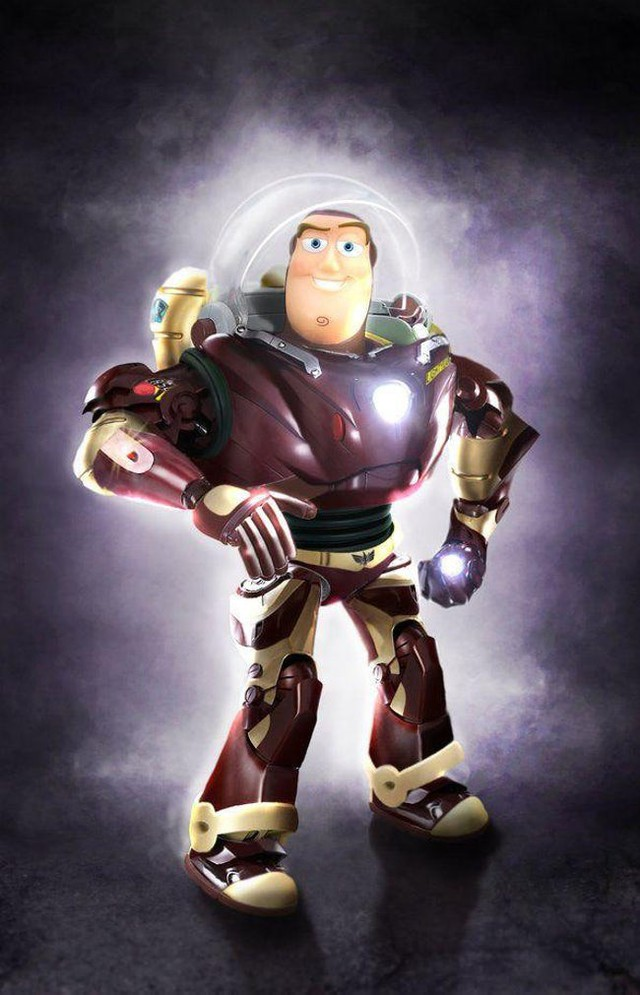 Khi các nhân vật Marvel và Disney kết hợp với nhau qua óc sáng tạo đầy táo bạo của fan - Ảnh 13.