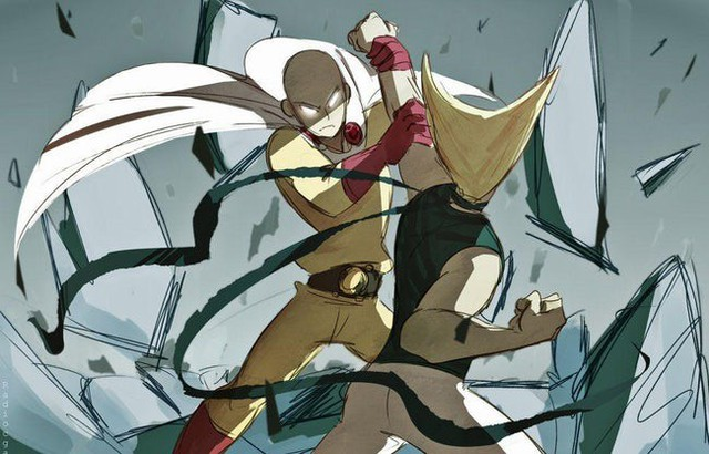 Bộ fanart cực chất khoe trọn sức mạnh của thánh Phồng Saitama trong One Punch Man - Ảnh 5.