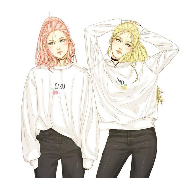 9 cặp đôi fanfiction không ai ngờ tới trong Naruto, đố bạn biết Sakura được ghép cặp với những ai đấy? - Ảnh 6.