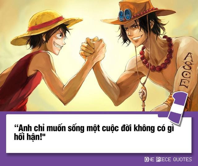 One Piece: 10 câu nói giá trị của Hỏa Quyền Ace chắc chắn sẽ khiến bạn phải suy ngẫm - Ảnh 1.