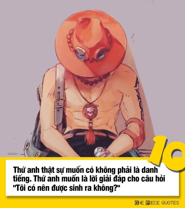 One Piece: 10 câu nói giá trị của Hỏa Quyền Ace chắc chắn sẽ khiến bạn phải suy ngẫm - Ảnh 10.