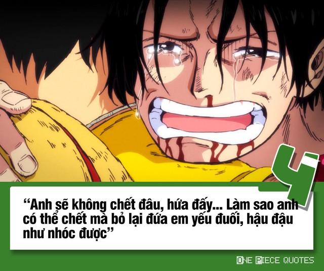 One Piece: 10 câu nói giá trị của Hỏa Quyền Ace chắc chắn sẽ khiến bạn phải suy ngẫm - Ảnh 4.