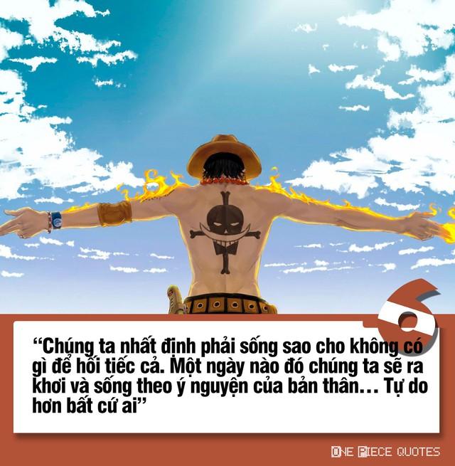 One Piece: 10 câu nói giá trị của Hỏa Quyền Ace chắc chắn sẽ khiến bạn phải suy ngẫm - Ảnh 6.