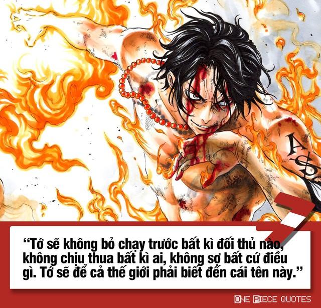 One Piece: 10 câu nói giá trị của Hỏa Quyền Ace chắc chắn sẽ khiến bạn phải suy ngẫm - Ảnh 7.