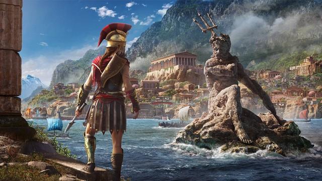 Odyssey sẽ là tựa game rộng lớn nhất trong lịch sử Assassins Creed, ngang bằng 1 quốc gia ngoài đời thực - Ảnh 1.
