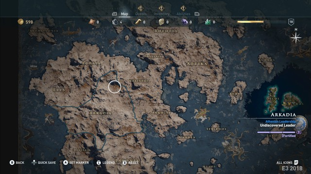 Odyssey sẽ là tựa game rộng lớn nhất trong lịch sử Assassins Creed, ngang bằng 1 quốc gia ngoài đời thực - Ảnh 2.