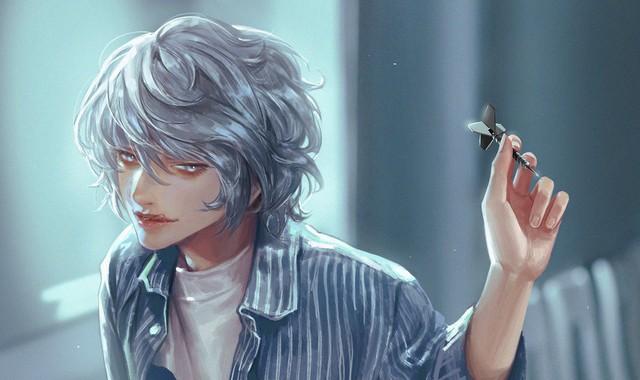 Mãn nhãn khi chiêm ngưỡng bộ fanart tuyệt đẹp lấy cảm hứng từ các nhân vật trong series Death Note - Ảnh 9.