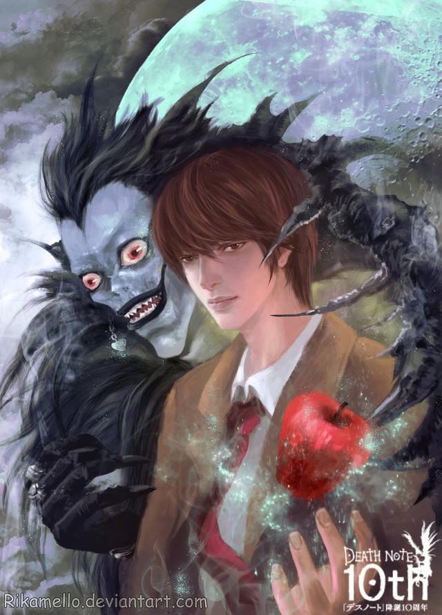 Mãn nhãn khi chiêm ngưỡng bộ fanart tuyệt đẹp lấy cảm hứng từ các nhân vật trong series Death Note - Ảnh 17.