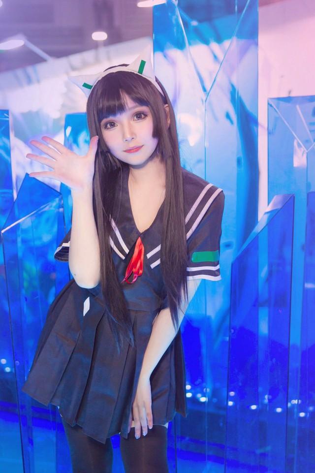 Cùng ngắm các showgirl xinh đẹp xuất hiện tại ChinaJoy 2018 vừa qua - Ảnh 11.