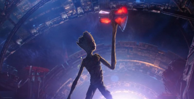 Avengers Infinity War: Đạo diễn giải thích lý do tại sao Groot có thể nâng chiếc rìu Stormbreaker của Thần Sấm Thor - Ảnh 3.