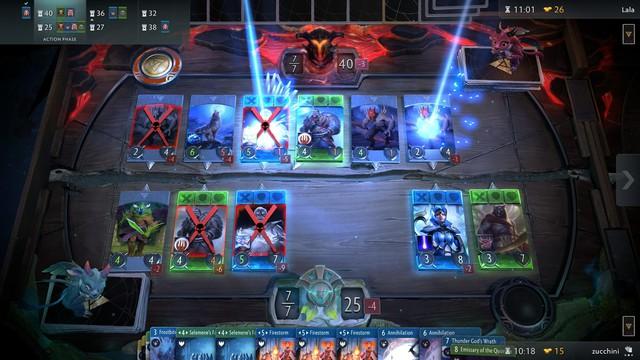 20 phút gameplay chi tiết của Artifact - Game thẻ bài bom tấn dựa trên DOTA 2 - Ảnh 1.