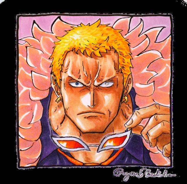 Vui là chính One Piece: Sự thật đầy bất ngờ đằng sau cặp kính bất ly thân của Doflamingo đã được các fan hé lộ - Ảnh 9.