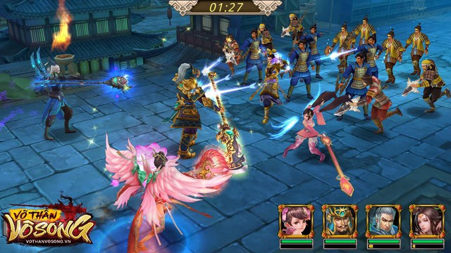 """Võ Thần Vô Song chính thức ra mắt ngày mai 12/09, game thủ sẽ có Điêu Thuyền siêu """"bá đạo"""" chỉ với 10K - Ảnh 2."""