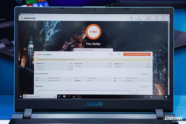Cận cảnh laptop chơi game Asus F560 giá rẻ cho học sinh, sinh viên: GTX 1050, viền mỏng NanoEdge, sạc nhanh 50% trong 39 phút - Ảnh 15.