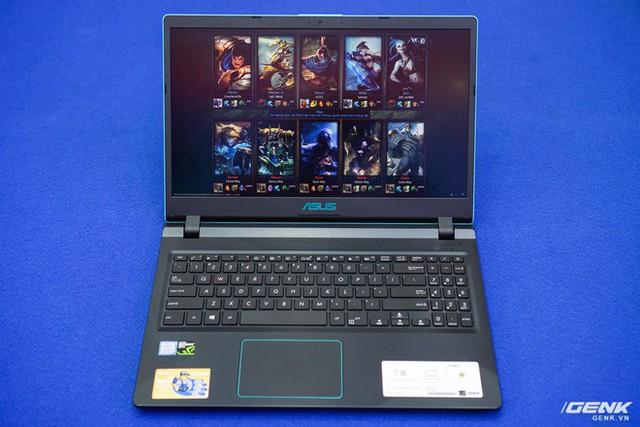 Cận cảnh laptop chơi game Asus F560 giá rẻ cho học sinh, sinh viên: GTX 1050, viền mỏng NanoEdge, sạc nhanh 50% trong 39 phút - Ảnh 5.