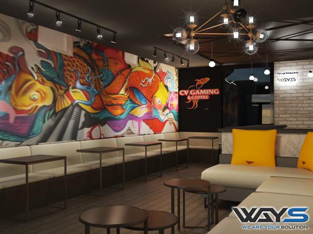 Xuất hiện quán Net lạ CV Gaming cực sang chảnh tại TP Hồ Chí Minh - Ảnh 2.