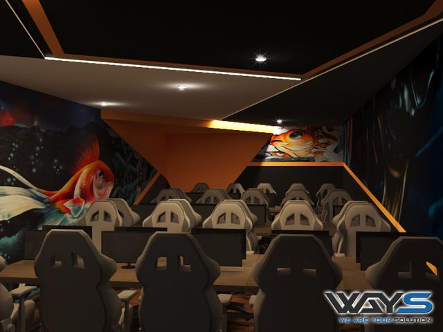 Xuất hiện quán Net lạ CV Gaming cực sang chảnh tại TP Hồ Chí Minh - Ảnh 4.