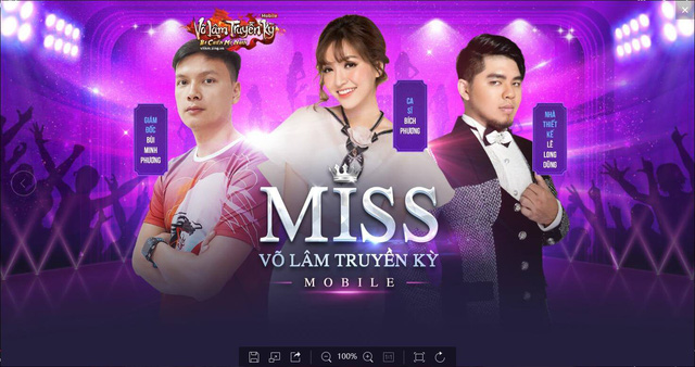 Bích Phương nữ giám khảo chính của Miss Võ Lâm Truyền Kỳ Mobile Photo-1-1536916931424473192745