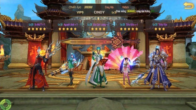 """Vừa mở game được 2 ngày, Võ Thần Vô Song đã xuất siêu VIP sở hữu dàn tướng khủng """"phê lòi mắt"""" - Ảnh 4."""