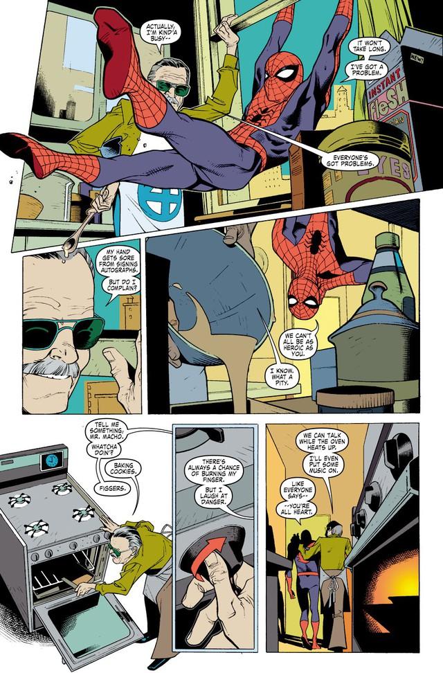 Comics Trivia: 8 lần Bố già Stan Lee xuất hiện trong thế giới truyện tranh Marvel - Ảnh 10.