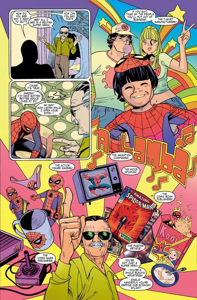 Comics Trivia: 8 lần Bố già Stan Lee xuất hiện trong thế giới truyện tranh Marvel - Ảnh 11.