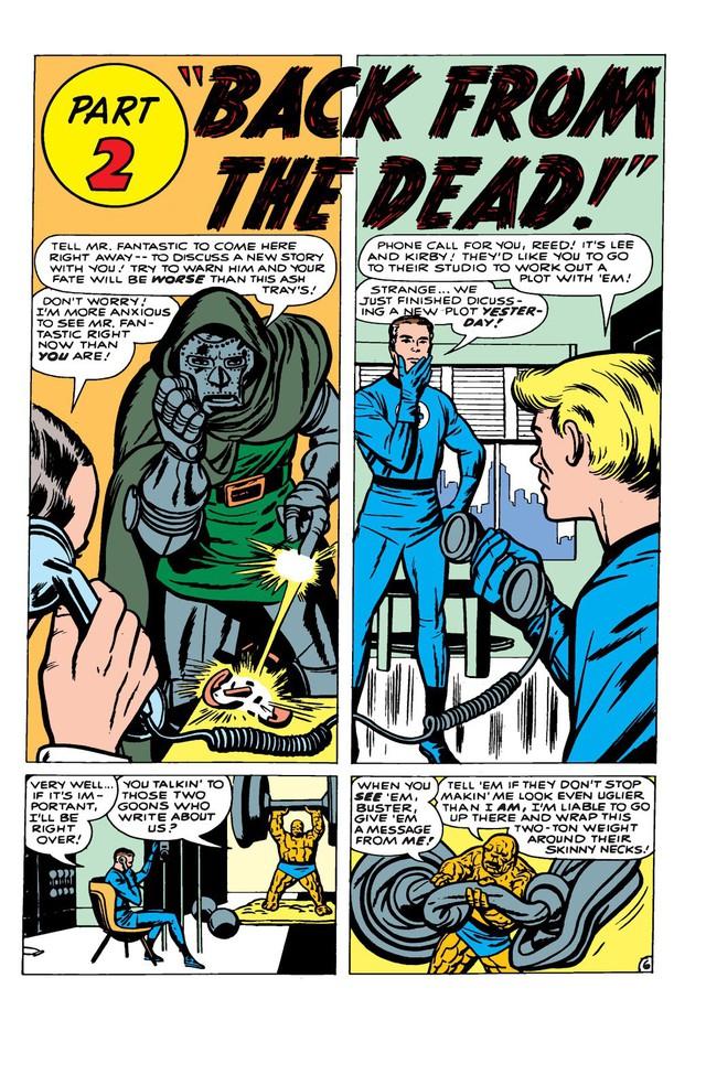 Comics Trivia: 8 lần Bố già Stan Lee xuất hiện trong thế giới truyện tranh Marvel - Ảnh 1.