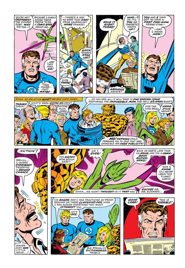Comics Trivia: 8 lần Bố già Stan Lee xuất hiện trong thế giới truyện tranh Marvel - Ảnh 3.