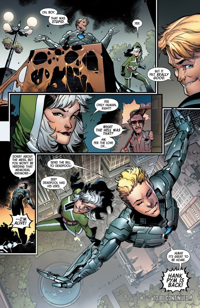 Comics Trivia: 8 lần Bố già Stan Lee xuất hiện trong thế giới truyện tranh Marvel - Ảnh 12.