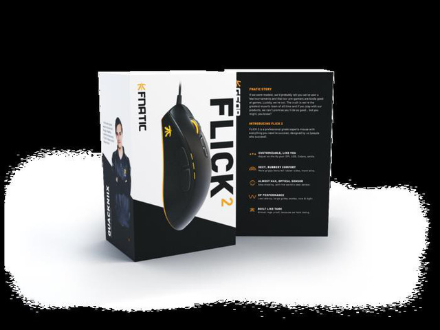 FNATIC Flick2 - Chuột chơi game đến từ đội eSport chuyên nghiệp, hoàn hảo không tì vết - Ảnh 17.