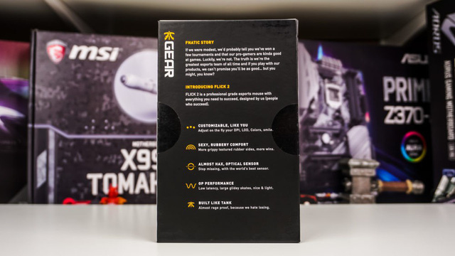 FNATIC Flick2 - Chuột chơi game đến từ đội eSport chuyên nghiệp, hoàn hảo không tì vết - Ảnh 3.
