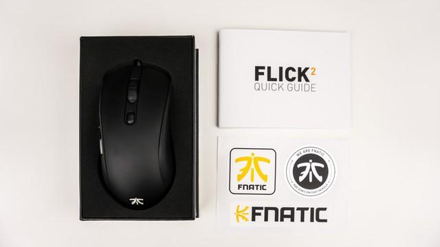 FNATIC Flick2 - Chuột chơi game đến từ đội eSport chuyên nghiệp, hoàn hảo không tì vết - Ảnh 4.