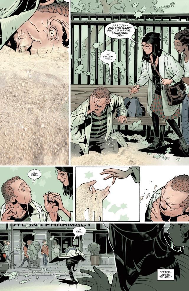 Comics Trivia: Sở hữu sức mạnh của Sandman, Spider-Man hóa Nhện Cát siêu khổng lồ - Ảnh 3.