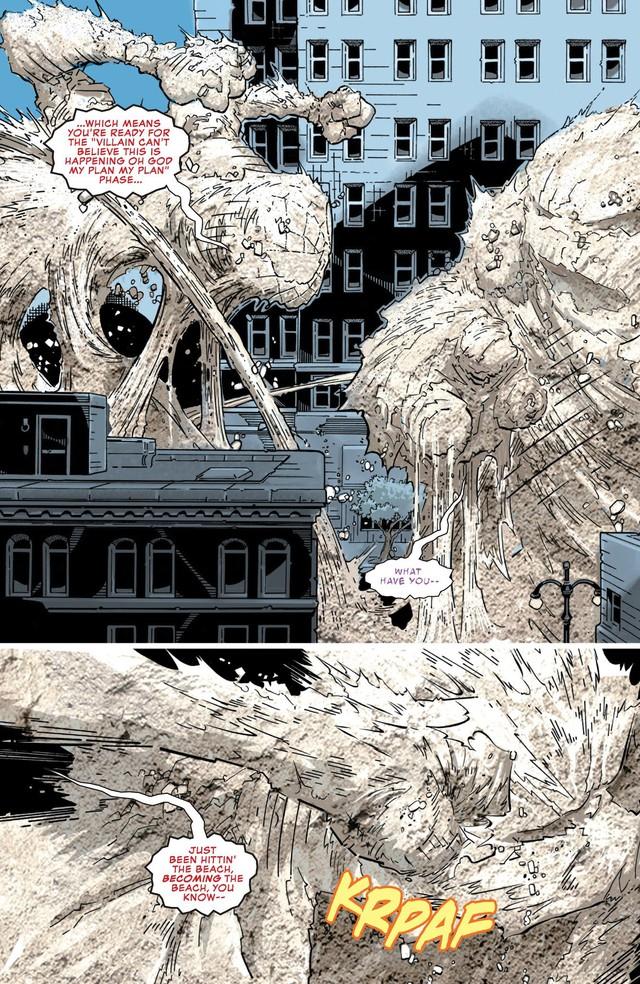 Comics Trivia: Sở hữu sức mạnh của Sandman, Spider-Man hóa Nhện Cát siêu khổng lồ - Ảnh 8.