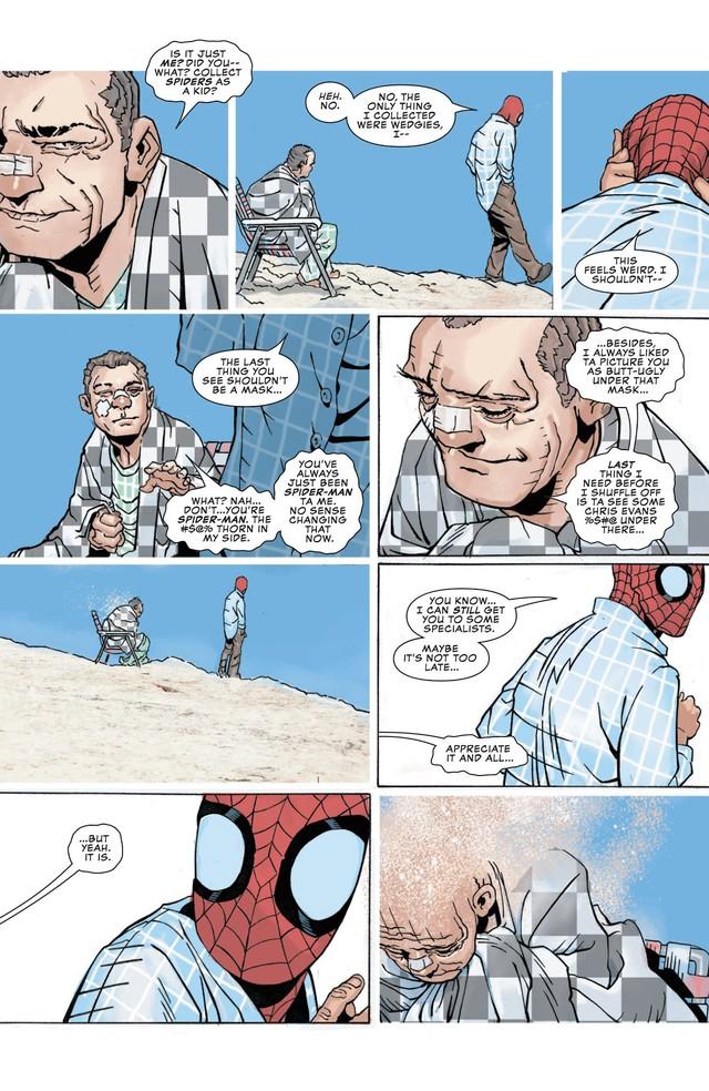 Comics Trivia: Sở hữu sức mạnh của Sandman, Spider-Man hóa Nhện Cát siêu khổng lồ - Ảnh 4.