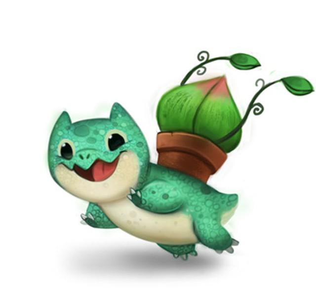 Độc đáo bộ tác phẩm Pokémon được vẽ theo phong cách hoạt hình đáng yêu - Ảnh 13.
