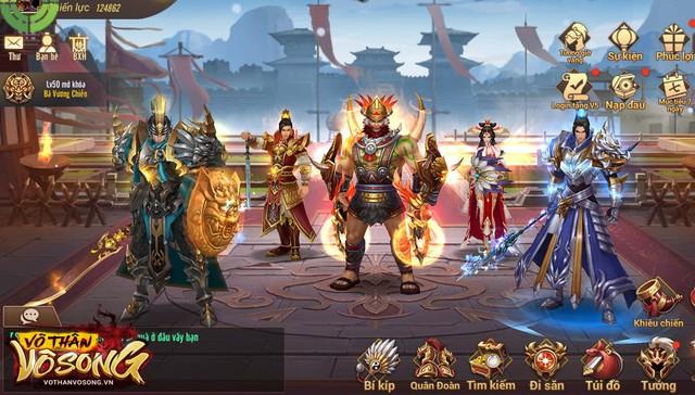 [HOT] Võ Thần Vô Song: Game đỉnh cao chiến thuật Tam Quốc dành cho mobile chính thức ra mắt 12/09 - Ảnh 3.