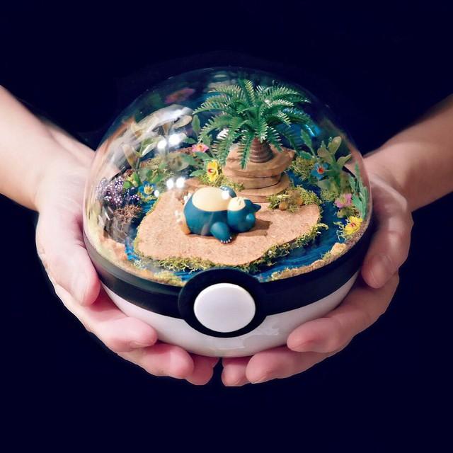 Những khu vườn Pokeball trong lòng bàn tay khiến fan ruột Pokemon thích mê từ cái nhìn đầu tiên - Ảnh 12.