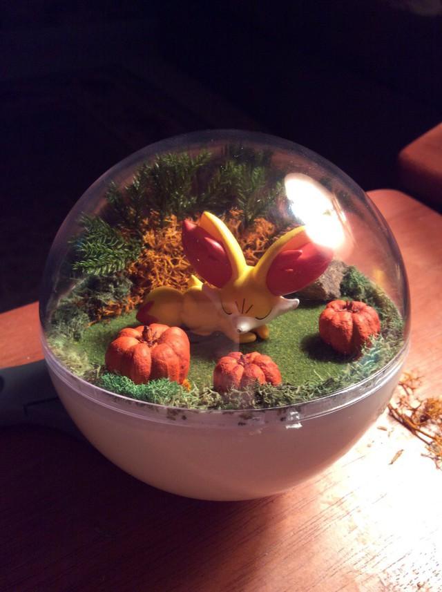 Những khu vườn Pokeball trong lòng bàn tay khiến fan ruột Pokemon thích mê từ cái nhìn đầu tiên - Ảnh 8.