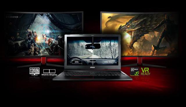 MSI GE73VR - Laptop chơi game mỏng nhẹ nhưng mạnh mẽ, ấn tượng nhất những ngày đầu năm 2018
