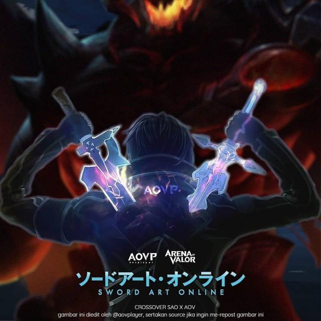 Liên Quân Mobile: Game thủ Việt tự sáng tạo kỹ năng cho tướng chưa ra mắt Kirito - Ảnh 1.