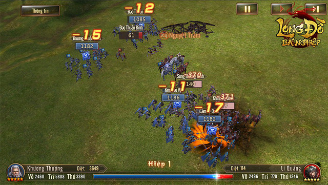 """Chưa từng có tựa game SLG nào tại Việt Nam sở hữu đồ họa """"khủng"""" như Long Đồ Bá Nghiệp, đúng là đẳng cấp game Top 1 Châu Á! - Ảnh 7."""