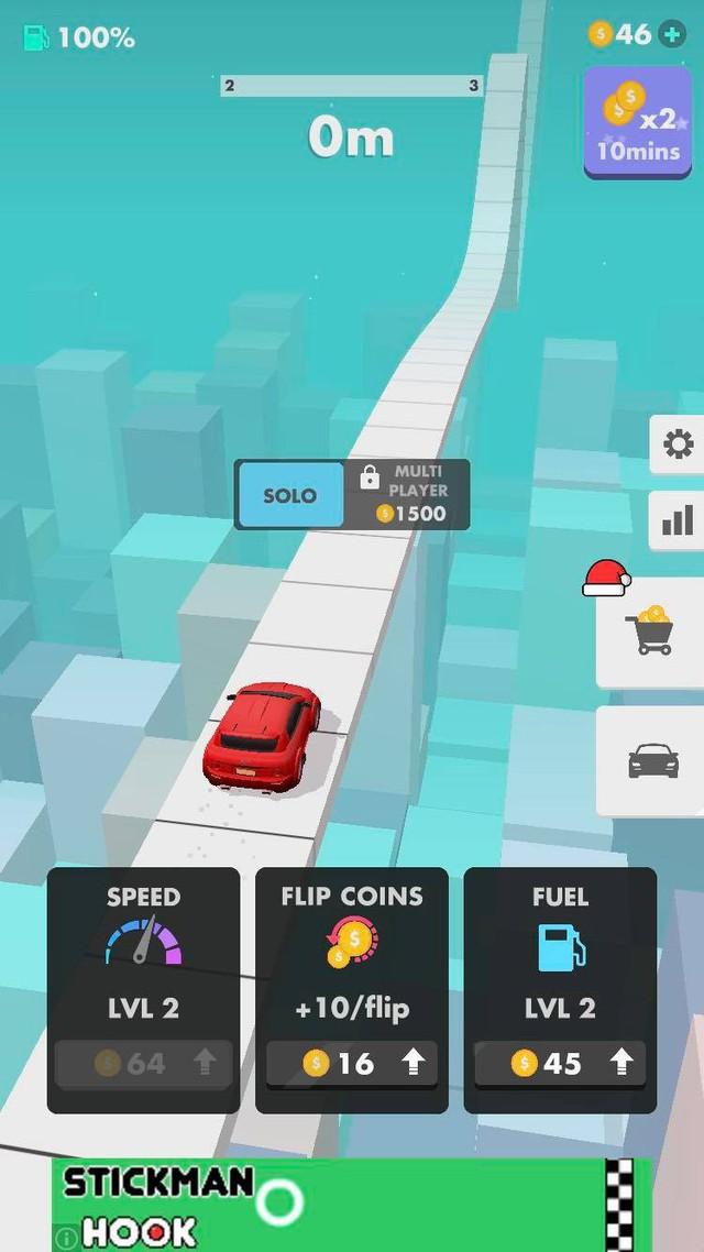 Flip Rush - Game chạy đua vô tận khiến game thủ không thể nào mà dừng lại được - Ảnh 2.