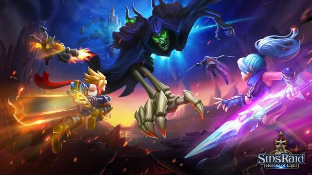 Sins Raid: Heroes of Light - Game hành động tuyệt phẩm mới mở thử nghiệm, xứng đáng chơi ngay - Ảnh 2.
