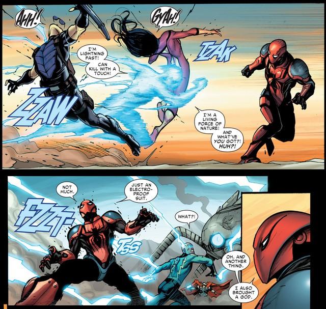 4 bộ giáp siêu khủng có thể giúp sức mạnh của Người Nhện tăng lên như hổ mọc thêm cánh trong Spider-Man Far From Home - Ảnh 16.