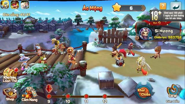 Ngoài đội hình chính, game quẩy Tết Tiểu Tiểu Tam Quốc Chí còn cho triệu hồi cả Xe bắn đá, Lính gỡ bom, Đạo quân Cừu max vui - Ảnh 4.